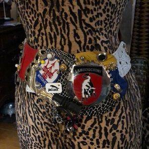 Fred Hayman Vintage Belt 1989